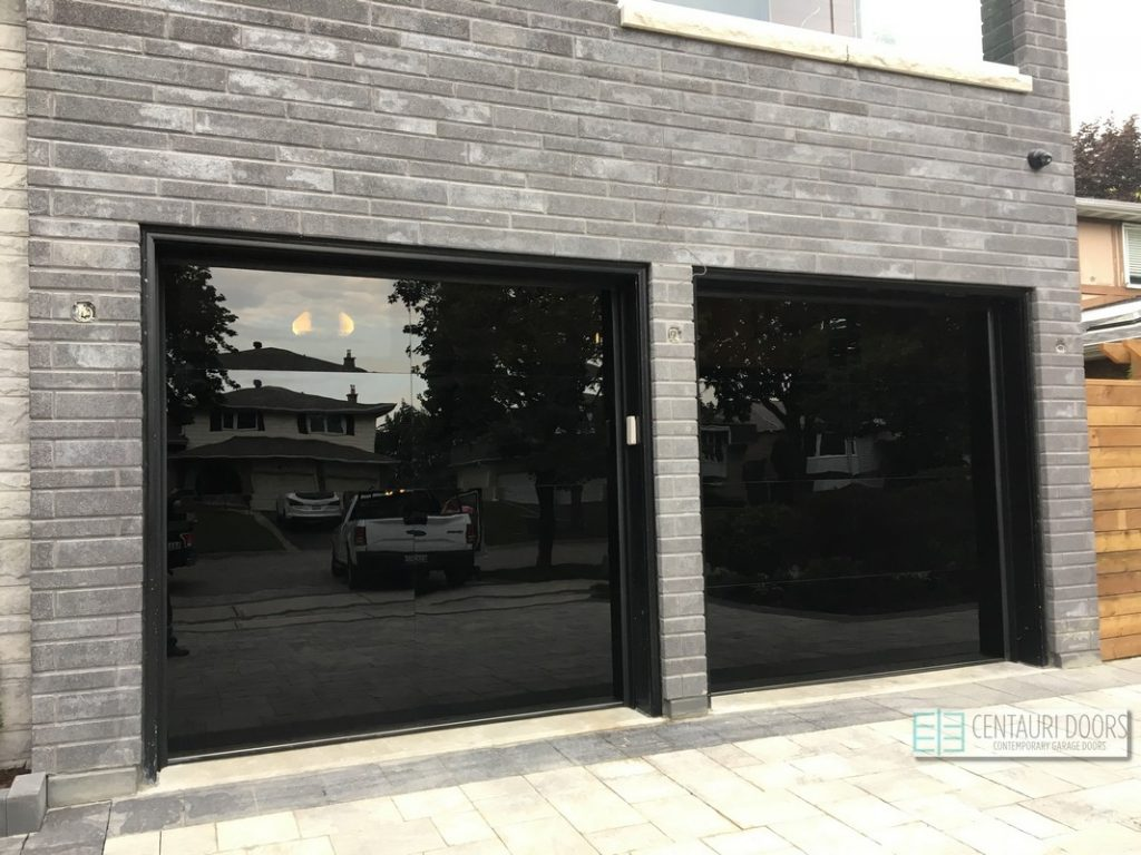 Frameless Glass Garage Doors