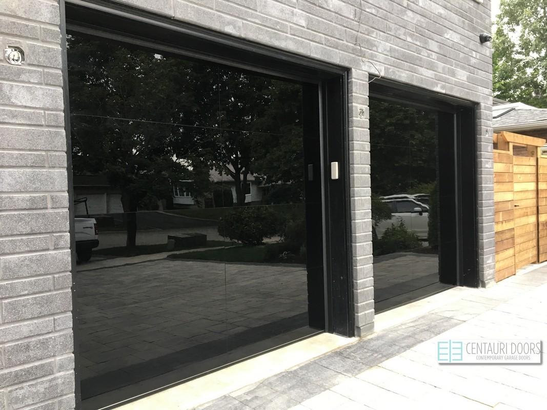 Centauri Garage Doors | Modern, Smooth, Frameless Glass Garage Doors