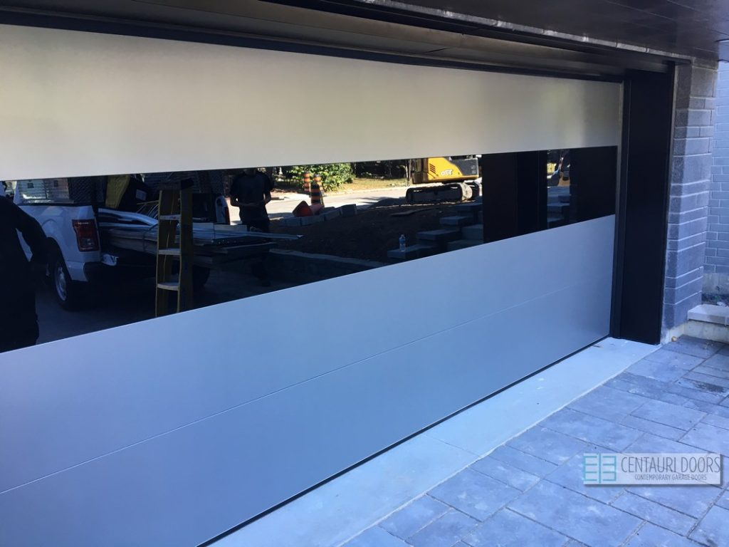 Modern Garage Doors - Centauri Garage Doors | Modern, Smooth, Frameless  Glass Garage Doors