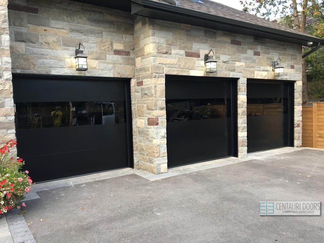 Modern garage doors thornhill centauri